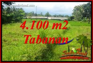 FOR sale Magnificent 4,100 m2 Land in Tabanan Bali TJTB417