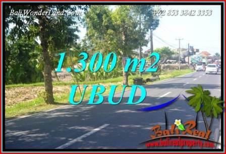 1,300 m2 Land sale in Ubud Bali TJUB713
