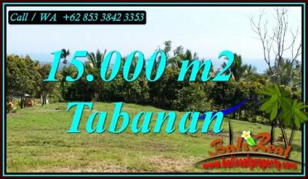 Affordable PROPERTY 15,000 m2 LAND IN TABANAN FOR SALE TJTB472