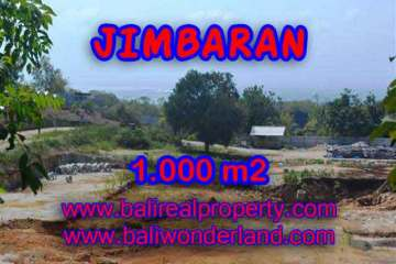 Land in Bali for sale, great view in Jimbaran Bali – TJJI073
