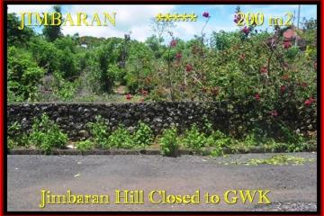 Beautiful 200 m2 LAND FOR SALE IN Jimbaran Ungasan BALI TJJI086
