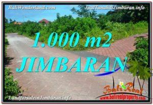 Exotic PROPERTY 1,000 m2 LAND IN JIMBARAN BALI FOR SALE TJJI111