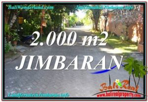 Magnificent 2,000 m2 LAND IN JIMBARAN FOR SALE TJJI115