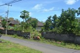 Land sale in Jimbaran