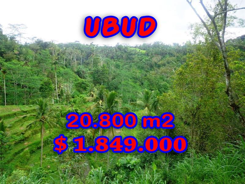 Land for sale in Ubud Bali, Wonderful view in Ubud Tampak Siring – TJUB274