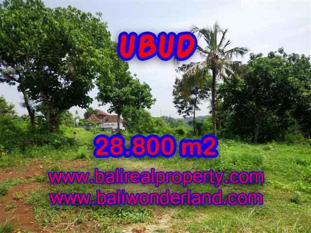Land in Bali for sale, Outstanding view in Gianyar Bali – TJUB366