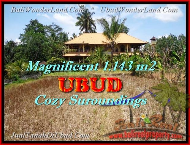 Affordable 1.143 m2 LAND SALE IN Sentral Ubud TJUB460