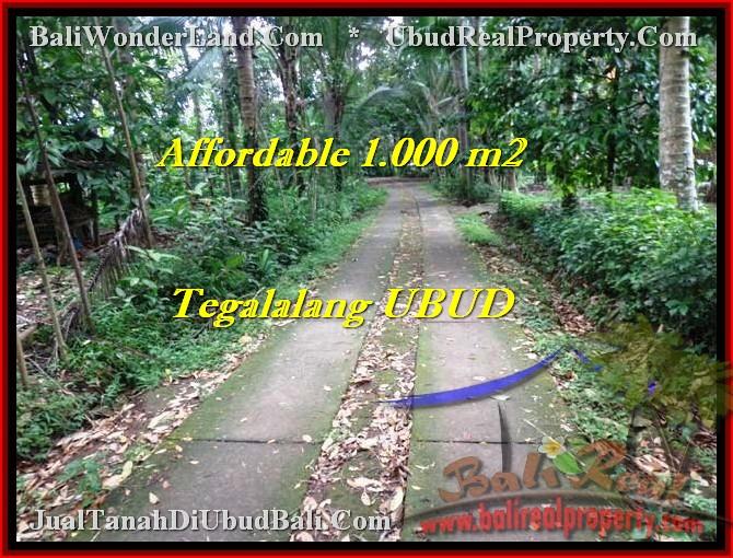 Affordable 1,000 m2 LAND SALE IN UBUD TJUB467