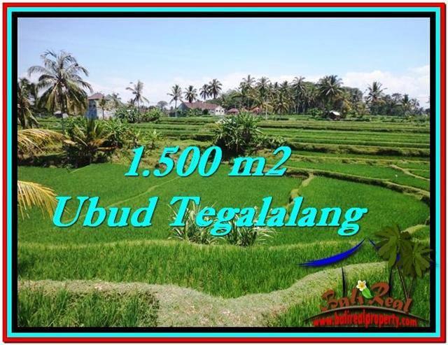 FOR SALE Magnificent 1,500 m2 LAND IN UBUD BALI TJUB528