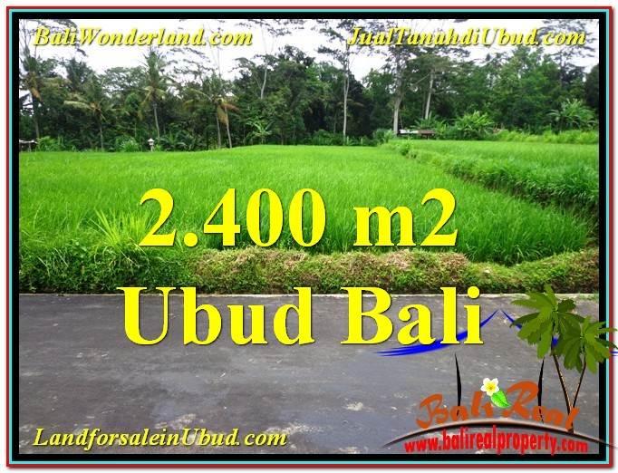 FOR SALE 2,800 m2 LAND IN UBUD TJUB563