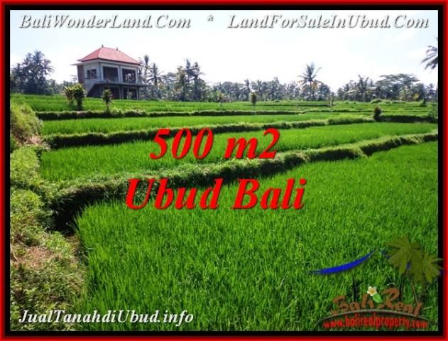 FOR SALE Magnificent PROPERTY 500 m2 LAND IN Sentral Ubud TJUB543