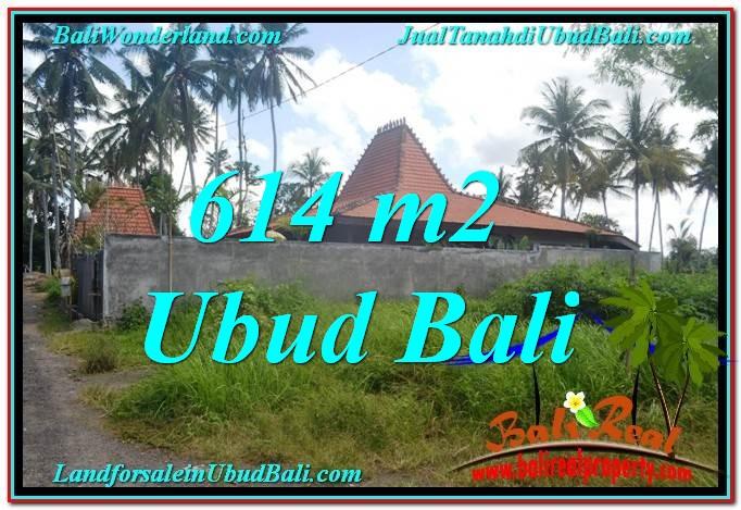 FOR SALE Affordable PROPERTY 614 m2 LAND IN Sentral Ubud BALI TJUB622