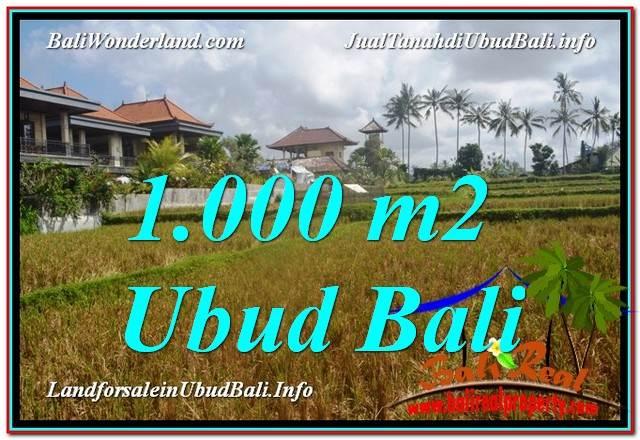 FOR SALE Beautiful LAND IN Ubud Pejeng BALI TJUB618