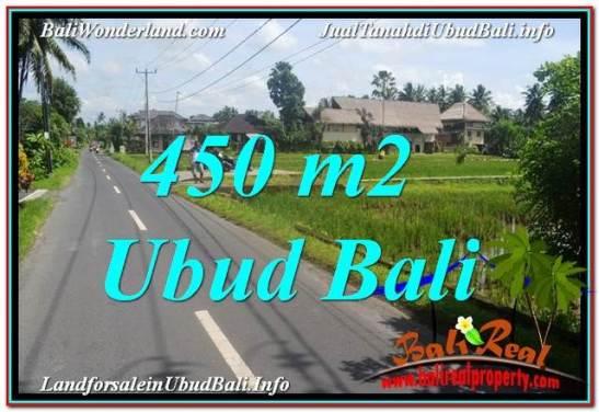 FOR SALE Beautiful 450 m2 LAND IN UBUD BALI TJUB647