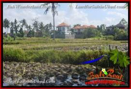 Exotic PROPERTY Sentral Ubud 1,200 m2 LAND FOR SALE TJUB663
