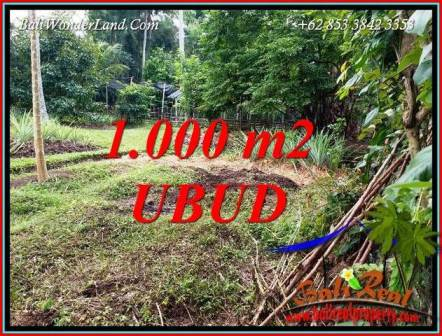 Exotic Land in Ubud for sale TJUB712