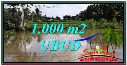 FOR SALE Exotic LAND IN Ubud Pejeng BALI TJUB753