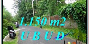 Magnificent PROPERTY 1,150 m2 LAND SALE IN UBUD BALI TJUB576