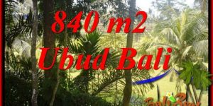 Affordable 840 m2 Land for sale in Ubud Bali TJUB685