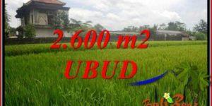 Exotic Property 2,600 m2 Land in Ubud Pejeng Bali for sale TJUB701