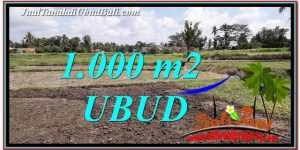 Magnificent 1,000 m2 LAND FOR SALE IN Sentral Ubud TJUB765