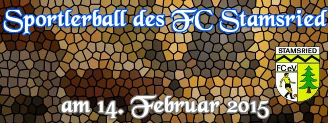Sportlerball des FC Stamsried am 14. Februar 2015
