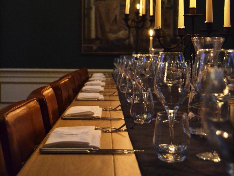 Private dinner vanaf € 37,50 p.p.