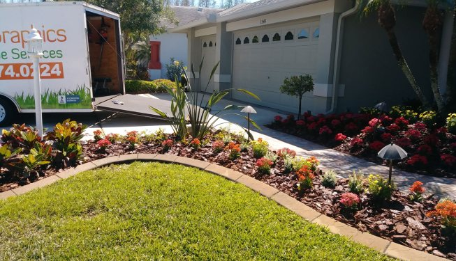 finished landscaping