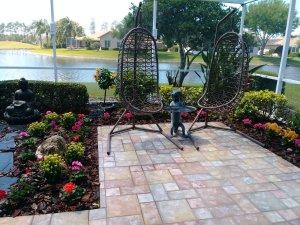 son room patio garden