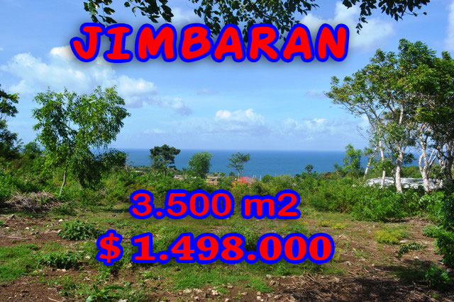 Land for sale in Bali, Exotic view in Jimbaran Bali, Indonesia – TJJI044