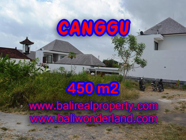 Bali Property for sale, Stunning land for sale in Canggu Bali  – 450 sqm @ $ 850
