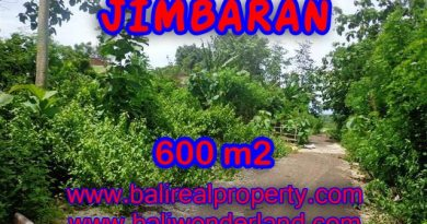 Land for sale in Jimbaran Bali, Wonderful view in Jimbaran Ungasan – TJJI068-x