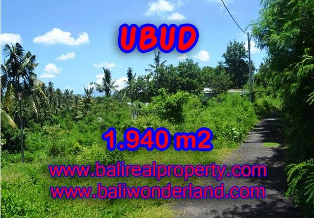 Land for sale in Ubud, Stunning view in Ubud Center Bali – TJUB379