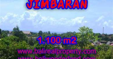 Interesting Land for sale in Jimbaran Bali, villa environtment in Jimbaran Ungasan– TJJI067-x