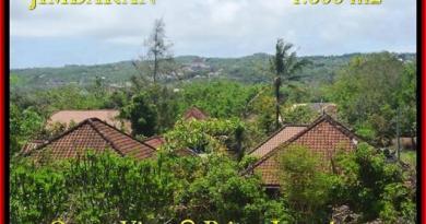 Exotic 1.600 m2 LAND FOR SALE IN Jimbaran Ungasan BALI TJJI089