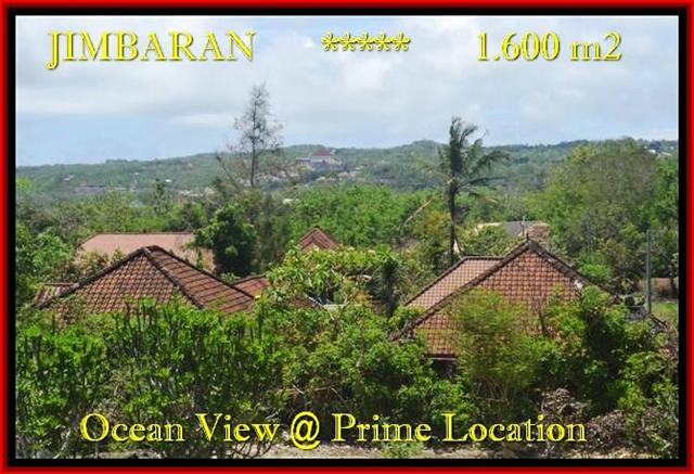FOR SALE Magnificent PROPERTY 1.600 m2 LAND IN Jimbaran Ungasan BALI TJJI089