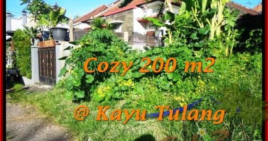 FOR SALE Affordable 200 m2 LAND IN Canggu Kayutulang BALI TJCG173