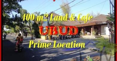 Magnificent PROPERTY UBUD BALI 400 m2 LAND FOR SALE TJUB444