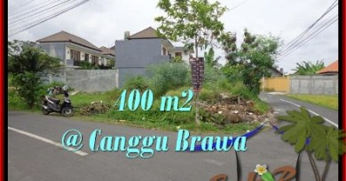 Exotic PROPERTY LAND FOR SALE IN Canggu Brawa BALI TJCG175
