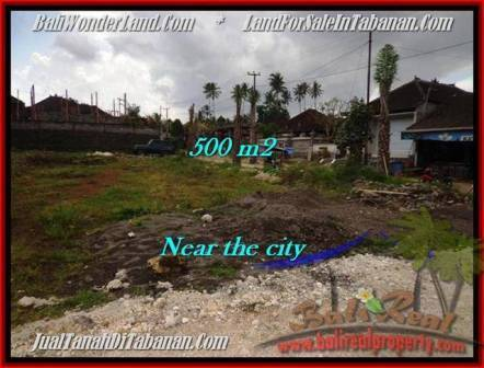 Exotic 500 m2 LAND FOR SALE IN TABANAN BALI TJTB201