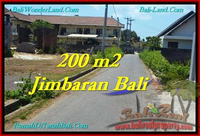 Affordable PROPERTY JIMBARAN BALI 200 m2 LAND FOR SALE TJJI101