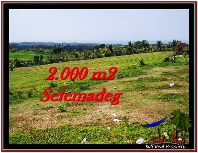 Beautiful 2,000 m2 LAND SALE IN TABANAN BALI TJTB228