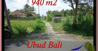Magnificent PROPERTY Ubud Tampak Siring 940 m2 LAND FOR SALE TJUB531