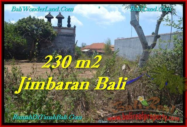 Magnificent PROPERTY 200 m2 LAND SALE IN JIMBARAN BALI TJJI102