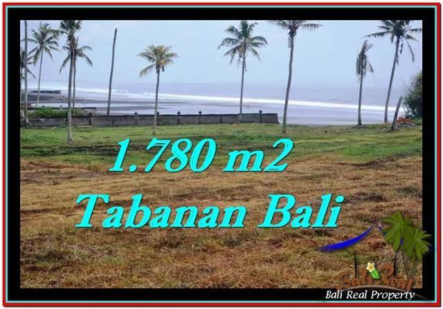 Beautiful 1,780 m2 LAND SALE IN TABANAN BALI TJTB249