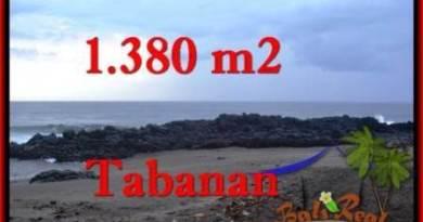 Beautiful 1,380 m2 LAND SALE IN TABANAN BALI TJTB270