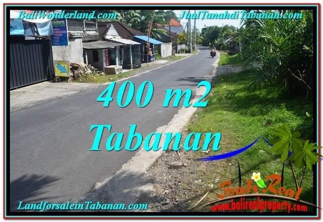 Magnificent PROPERTY 400 m2 LAND FOR SALE IN Tabanan Kota TJTB296