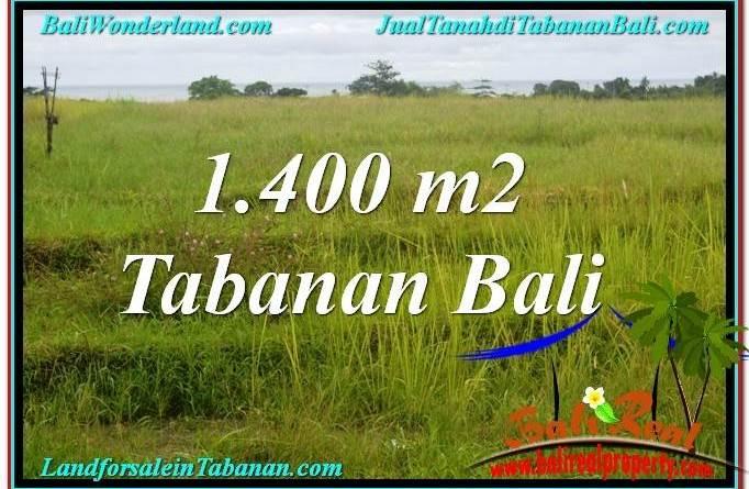 Exotic 1,400 m2 LAND IN TABANAN FOR SALE TJTB309