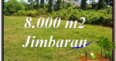 Magnificent PROPERTY 8,000 m2 LAND SALE IN JIMBARAN BALI TJJI109