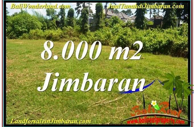 Magnificent PROPERTY 8,000 m2 LAND SALE IN JIMBARAN BALI TJJI109